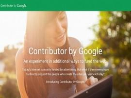 google contributor pubblicita